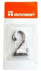 Номерок дверной самок. АЛЛЮР хром 2 (20)