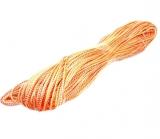 Веревка 100м/3мм цветная  полипропиленовая (20)