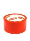 Скотч красный 60м, 6 штук (36)