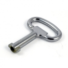 ЗВ АЛЛЮР щитовой 705-3 ключ 3-х гран (100)